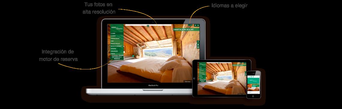 diseño web casas rurales